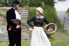 Årringer i Stein. Foto: Mette Haugland. Aktører: Elg Elgesem / Elin Gunnarsdotter Sandvik