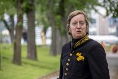 Årringer i Stein. Foto: Mette Haugland. Aktør: Robin Øverby