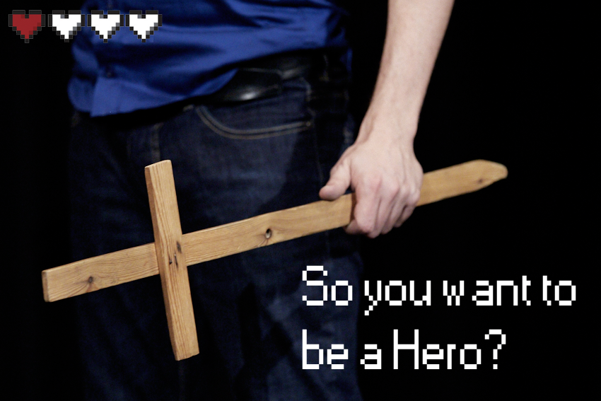 So You Want To Be A Hero? (Kareby, SE) @ Bollestad Växt och Utveckling
